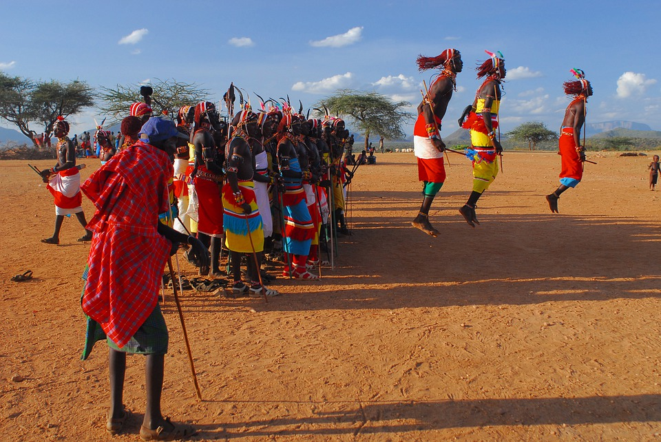 Fêtes traditionnelles à Samburu