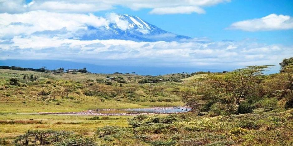 Le paysage kényane