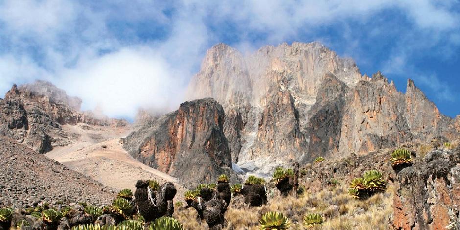L'emblématique Mont Kenya