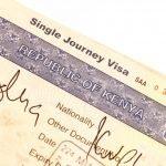 Visa voyage Kenya